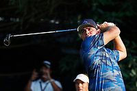 Gary Woodland (USA) tees off on the 18th hole during the third round of the 100th PGA Championship at Bellerive Country Club, St. Louis, Missouri, USA. 8/11/2018.<br /> Picture: Golffile.ie | Brian Spurlock<br /> <br /> All photo usage must carry mandatory copyright credit (&copy; Golffile | Brian Spurlock)