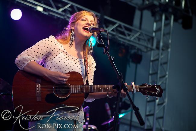 Cara Brindisi performs at Newport Waterfront Events July 10, 2013