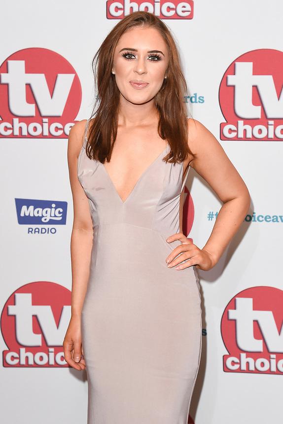 arriving for the TV Choice Awards 2017 at The Dorchester Hotel, London. <br /> <br /> <br /> ©Ash Knotek  D3303  04/09/2017