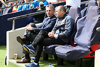 Leicester City manager Claude Puel during Tottenham Hotspur vs Leicester City, Premier League Football at Wembley Stadium on 13th May 2018