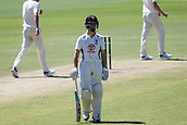 November 5th 2017, WACA Ground, Perth Australia; International cricket tour, Western Australia versus England, day 2; Western Warriors Nick Hobson takes the walk back to the stands after being caught out