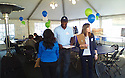Members of the Woodmere Trace community in Norfolk, VA, gathered  together for a community day on October 14, 2013.