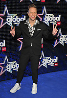 Olly Murs at the Global Awards 2019, Hammersmith Apollo (Eventim Apollo), Queen Caroline Street, London, England, UK, on Thursday 07th March 2019.<br /> CAP/CAN<br /> &copy;CAN/Capital Pictures