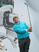 14.10.2014. The London Golf Club, Ash, England. The Volvo World Match Play Golf Championship.  Graeme McDowell (NIR) on the par three eighth hole during the Pro-Am event.
