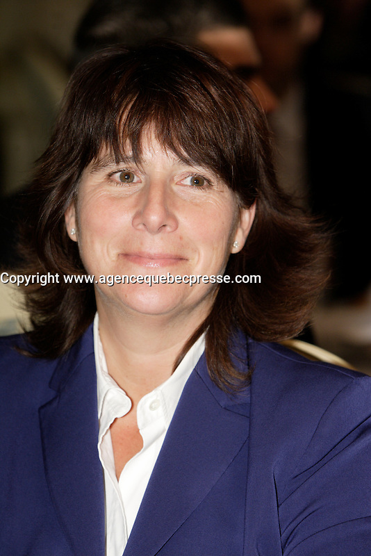 Montreal  (Quebec) CANADA - Nov 14 2011 --Sophie Brochu, President and CEO of  Gaz Metro