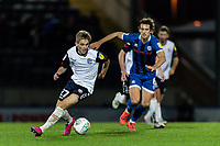 Bolton Wanderers' Ronan Darcy (left) breaks away from Rochdale's Jordan Williams <br /> <br /> Photographer Andrew Kearns/CameraSport<br /> <br /> The Carabao Cup First Round - Rochdale v Bolton Wanderers - Tuesday 13th August 2019 - Spotland Stadium - Rochdale<br />  <br /> World Copyright © 2019 CameraSport. All rights reserved. 43 Linden Ave. Countesthorpe. Leicester. England. LE8 5PG - Tel: +44 (0) 116 277 4147 - admin@camerasport.com - www.camerasport.com