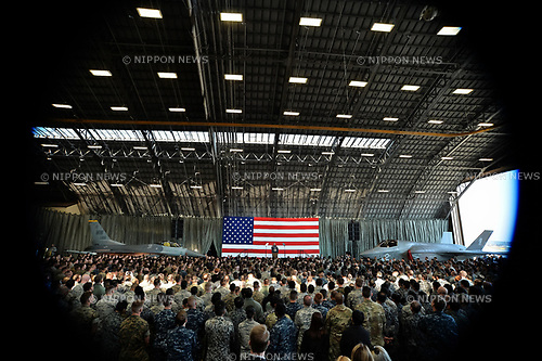 Trump, Marine One, November 5, 2017, Tokyo, Japan : U.S. Presidential Marine One is seen at the U.S. Yokota Air Base in Tokyo, Japan on November 5, 2017.