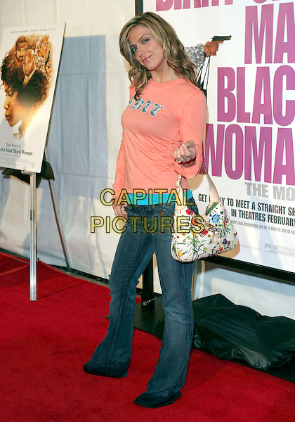 "DEBBIE MATENOPOULOS.""Diary of a Mad Black Woman"" Los Angeles Premiere held at the Arcight, Hollywood, California, 21 February 2005..full length .Ref: ADM.www.capitalpictures.com.sales@capitalpictures.com.©Zach Lipp/AdMedia/Capital Pictures ."