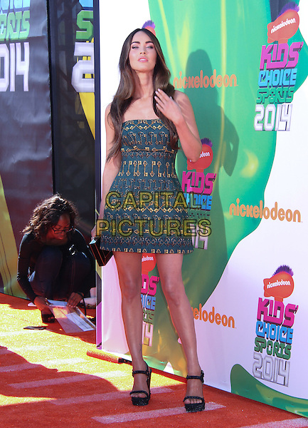 LOS ANGELES, CA - JULY 17: Megan Fox at Nickelodeon Kids' Choice Sports Awards 2014 at Pauley Pavilion on July 17, 2014 in Los Angeles, California. <br /> CAP/MPI/MPI99<br /> &copy;MPI99/ MediaPunch/Capital Pictures