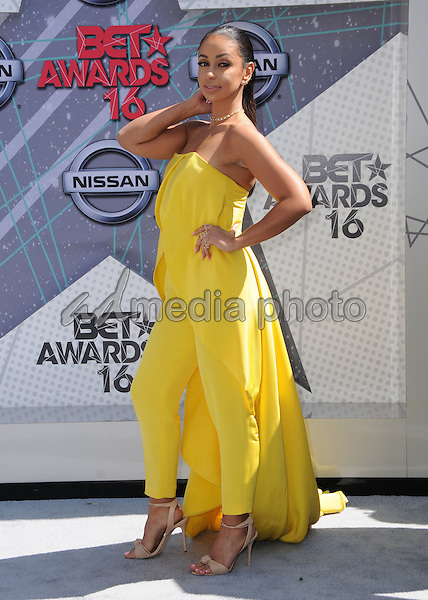 26 June 2016 - Los Angeles. Mya. Arrivals for the 2016 BET Awards held at the Microsoft Theater. Photo Credit: Birdie Thompson/AdMedia