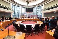 """Konstituierende Sitzung des 2. Untersuchungsausschusses der 19. Wahlperiode des Deutschen Bundestag zur PKW-Maut am Donnerstag den 12. Dezember 2019.<br /> Der Ausschuss wurde zur Aufklaerung der Mautvertraege zwischen dem Verkehrsministerium unter Leitung von Andreas Scheuer (CSU) und den Firmen Kapsch und CTS Eventim eingerichtet.<br /> Der Maut-Untersuchungsausschuss soll das Verhalten der Regierung und besonders des Verkehrsministers bei der Vorbereitung und der Vergabe der Betreibervertraege """"umfassend aufklaeren"""".<br /> 12.12.2019, Berlin<br /> Copyright: Christian-Ditsch.de<br /> [Inhaltsveraendernde Manipulation des Fotos nur nach ausdruecklicher Genehmigung des Fotografen. Vereinbarungen ueber Abtretung von Persoenlichkeitsrechten/Model Release der abgebildeten Person/Personen liegen nicht vor. NO MODEL RELEASE! Nur fuer Redaktionelle Zwecke. Don't publish without copyright Christian-Ditsch.de, Veroeffentlichung nur mit Fotografennennung, sowie gegen Honorar, MwSt. und Beleg. Konto: I N G - D i B a, IBAN DE58500105175400192269, BIC INGDDEFFXXX, Kontakt: post@christian-ditsch.de<br /> Bei der Bearbeitung der Dateiinformationen darf die Urheberkennzeichnung in den EXIF- und  IPTC-Daten nicht entfernt werden, diese sind in digitalen Medien nach §95c UrhG rechtlich geschuetzt. Der Urhebervermerk wird gemaess §13 UrhG verlangt.]"""