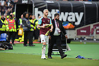 Marko Arnautovic of West Ham gives his boots way during West Ham United vs Burnley, Premier League Football at The London Stadium on 10th March 2018