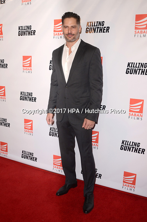 """LOS ANGELES - OCT 14:  Joe Manganiello at the """"Killing Gunther"""" Los Angeles Special Screening at the TCL Chinese 6 Theaters on October 14, 2017 in Los Angeles, CA"""