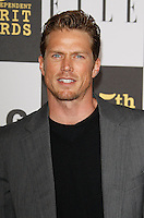 US actor Jason Lewis arrives at the 25th Independent Spirit Awards held at the Nokia Theater in Los Angeles on March 5, 2010. The Independent Spirit Awards is a celebration honoring films made by filmmakers who embody independence and originality..Photo by Nina Prommer/Milestone Photo