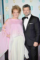 LONDON, UK - FEBRUARY 10: Lorraine Ashbourne and Andy Serkis at the 72nd British Academy Film Awards held at Albert Hall on February 10, 2019 in London, United Kingdom. Photo: imageSPACE/MediaPunch<br /> CAP/MPI/IS<br /> ©IS/MPI/Capital Pictures