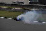 14.04.2018, Shanghai Audi International Circuit, Shanghai, 2018 FORMULA 1 HEINEKEN CHINESE GRAND PRIX, 12.04. - 15.04.2018<br /> im Bild<br />Daniel Ricciardo (AUS#3), Aston Martin Red Bull Racing rollt mit Turboschaden aus<br /> <br /><br /> <br /> Foto &copy; nordphoto / Bratic