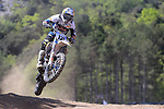 Pilot Maximilian Nagl in action during the MXGP World Championships at Pietramurata, on April 19, 2015.