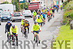 Cyclists in Cahersiveen at the Ring of Kerry Charity Cycle on Saturday.