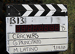 - Crackers - an Independent Short Film which is a dark comedy about an Italian chef Gus and his wife Cat who life is turned upside down by his mother-in-law Bidelia as it is filmed in South Amboy, New Jersey. These photos were taken on Sept. 16 and 17, 2010 on set. (Photo by Sue Coflin/Max Photos)