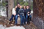 Family portrait in the Sierra Nevada