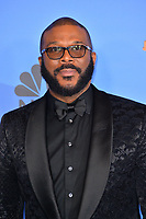 LOS ANGELES, CA. January 06, 2019: Tyler Perry at the 2019 Golden Globe Awards at the Beverly Hilton Hotel.<br /> Picture: Paul Smith/Featureflash