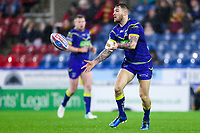 Picture by Alex Whitehead/SWpix.com - 08/02/2018 - Rugby League - Betfred Super League - Huddersfield Giants v Warrington Wolves - John Smith's Stadium, Huddersfield, England - Warrington's Daryl Clark.