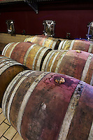 barrel aging cellar domaine parent pommard cote de beaune burgundy france