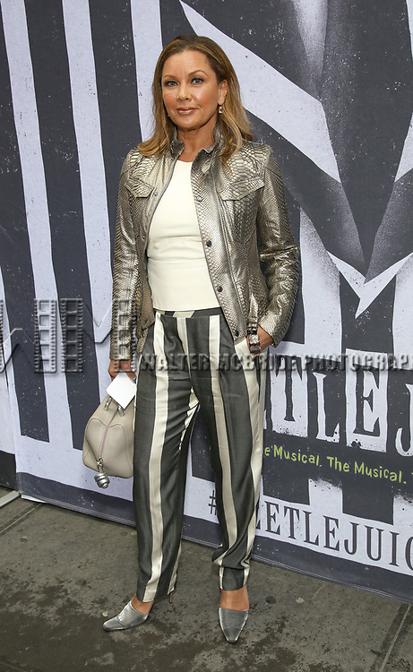 "Vanessa Williams attends the Broadway Opening Night Performance for ""Beetlejuice"" at The Wintergarden on April 25, 2019  in New York City."