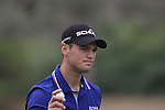 Martin Kaymer sinks his putt on the 8th green during Day 2 Friday of the Abu Dhabi HSBC Golf Championship, 21st January 2011..(Picture Eoin Clarke/www.golffile.ie)