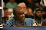 Luther Mack watches National Collegiate Boxing Association action in Reno, Nev. on Friday, Jan. 31, 2020. <br /> Photo by Cathleen Allison