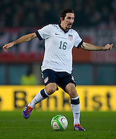 VIENNA, Austria - November 19, 2013: Sacha Kljestan during a 0-1 loss to host Austria during the international friendly match between Austria and the USA at Ernst-Happel-Stadium.