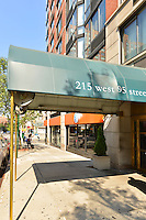 Entrance at 215 West 95th Street