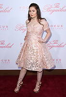 12 June 2017 - Los Angeles, California - Emma Kenney. The Beguiled Premiere held at the Directors Guild of America. Photo Credit: AdMedia