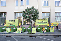 Greenpeace - Carbon Footprint protest 2009