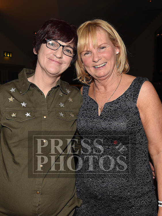Rosie Smith celebrating her 60th birthday with best friend Anne Carroll in the Thatch. Photo:Colin Bell/pressphotos.ie