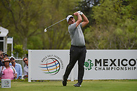 Francesco Molinari (ITA) watches his tee shot on 18 during round 4 of the World Golf Championships, Mexico, Club De Golf Chapultepec, Mexico City, Mexico. 2/24/2019.<br /> Picture: Golffile | Ken Murray<br /> <br /> <br /> All photo usage must carry mandatory copyright credit (© Golffile | Ken Murray)