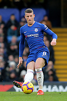 Ross Barkley of Chelsea in action during Chelsea vs Huddersfield Town, Premier League Football at Stamford Bridge on 2nd February 2019