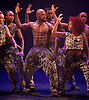 Boy Blue Entertainment <br /> Blak Whyte Gray <br /> at The Barbican Theatre, London, Great Britain <br /> press photocall / rehearsal <br /> 11th January 2016 <br /> <br /> <br /> Blak <br /> Theo Godson Oloyade <br /> Natasha Gooden <br /> Dan-I Harris-Walters <br /> Nicole McDowall <br /> Idney De' Almeida <br /> Ricardo Da Silva <br /> Gemma Kay Hoddy <br /> Dickson Mbi <br /> <br /> <br /> <br /> Photograph by Elliott Franks <br /> Image licensed to Elliott Franks Photography Services