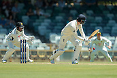 November 4th 2017, WACA Ground, Perth Australia; International cricket tour, Western Australia versus England, day 1; James Vince plays down the leg side during his innings