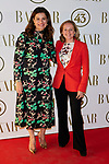 Minister of Economy Nada Calvino and Miriam Gonzalez Durantez attends to II Harper's Bazaar Actitud 43 awards at  in Madrid, Spain. October 17, 2018. (ALTERPHOTOS/A. Perez Meca)