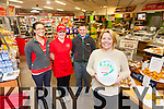 Fitzpatrick's Spar at The Market House Cahersiveen receives a 5 Star rating for Customer Care and the 'Q Mark' for Hygiene & Food Care, pictured here front Tracey Fitzpatrick, back l-r; Cathriona O'Donovan, Mary Kelly & Declan Moran.