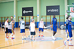 Players of Spanish National Team of Basketball during the training. August 01, 2019. (ALTERPHOTOS/Francis González)
