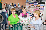 25 YEARS: Some of the volunteers at the Listowel Laundry for the Elderly which celebrated its 25th year last Friday, l-r: Mary Comerford, Joan Kenny and Mary Walsh.