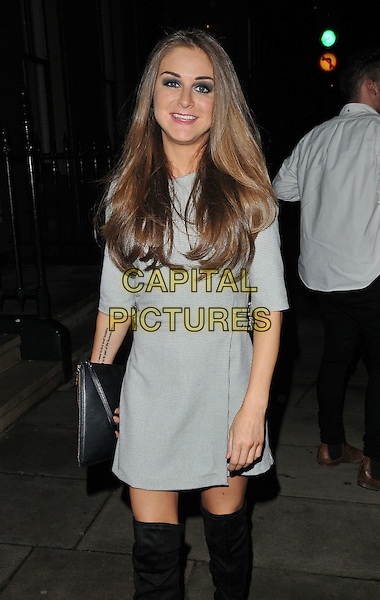 Nikki Grahame attends the &quot;Perfect Eyelashes: The Ultimate Guideto Lash Extensions&quot; book launch party, Skin Associates, Wimpole Street, London, England, UK, on Thursday 26 November 2015.<br /> CAP/CAN<br /> &copy;CAN/Capital Pictures