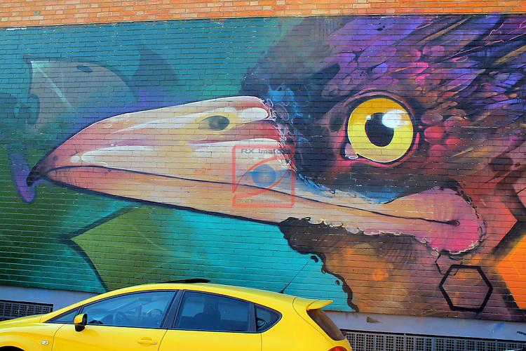 Street Art-Graffittis.<br /> Sabadell Escola Industrial.