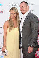Ola and James Jordan arriving for the Fragrance Foundation Awards 2014 at the Brewery, London. 15/05/2014 Picture by: Alexandra Glen / Featureflash