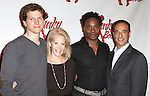 Producer Daryl Roth,Stark Sandss, Billy Porter & Producer Hal Luftig attending the Meet & Greet the Cast & Creative Team of the New Broadway Musical 'Kinky Boots' at the New 42nd Street Studios in New York City on September 14, 2012.