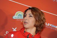 SCHAATSEN: AMSTELVEEN: 15-10-2013, De Jonge Dikkert, Perspresentatie Team LIGA, Margot Boer, ©foto Martin de Jong