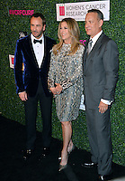 Tom Ford, Rita Wilson &amp; Tom Hanks at the arrivals for &quot;An Unforgettable Evening&quot;, to benefit the Women's Cancer Research Fund, at The Beverly Wilshire Hotel. Beverly Hills, USA 16 February  2017<br /> Picture: Paul Smith/Featureflash/SilverHub 0208 004 5359 sales@silverhubmedia.com