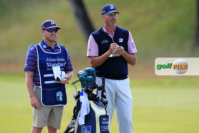 Matt Kuchar (USA) on the 2nd during Round 4 of the Aberdeen Standard Investments Scottish Open 2019 at The Renaissance Club, North Berwick, Scotland on Sunday 14th July 2019.<br /> Picture:  Thos Caffrey / Golffile<br /> <br /> All photos usage must carry mandatory copyright credit (© Golffile   Thos Caffrey)